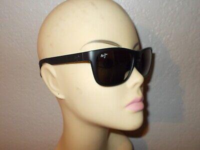 Maui Jim South Swell MJ755-2M Matte Black Frame Gray Glass Polarized (Swell Sunglasses)