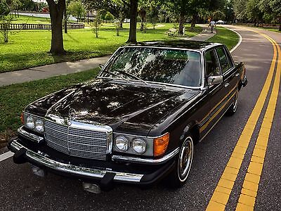 1975 Mercedes-Benz S-Class W116 in DB 423 Dark Tobacco Brown w. 69k miles 1975 Mercedes 280S W116 in Dark Tobacco Brown, 69k, A/C, BECKER Europa, gorgeous