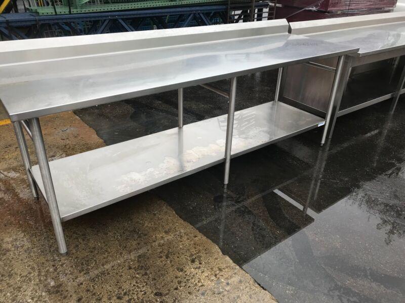 Used Stainless Steel Work Table, Restaurant, Bakery.