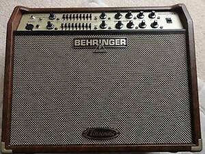 BEHRINGER ACX1800 ULTRACOUSTIC GUITAR AMPLIFIER - ACOUSTIC AMP - Corio Geelong City Preview