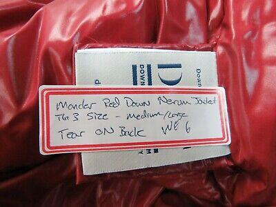 Moncler Women's Pink Down Nerium Jacket TG 3 - Red - Fits Medium to Large (WE6)
