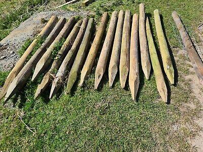 Round Wooden Fence posts 170x10cm