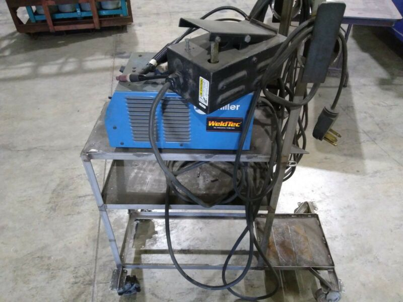 Miller Maxstar 152 with regular and tig torch with cart.