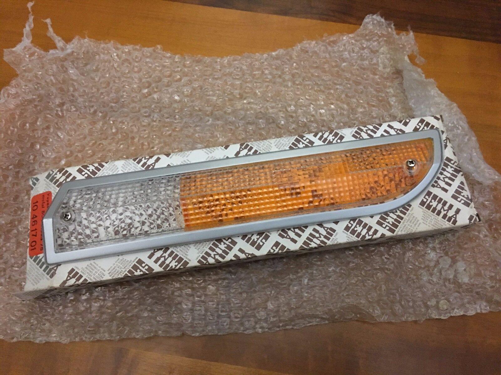 Original Peugeot 504 front light lens SEIMA Left Gauche 10461701