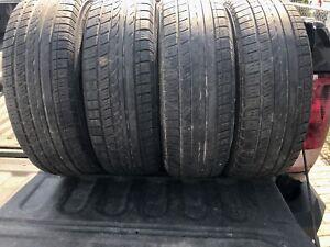 4 pneus été yokohama avid trz 185/65r14 40$