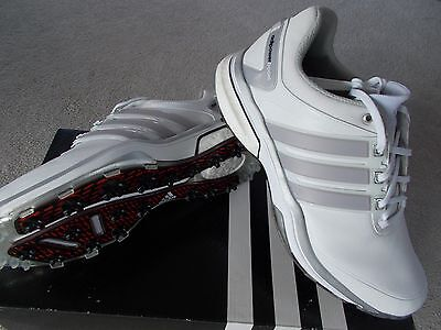 MENS ADIDAS GOLF SHOES TRAINER STYLE ADIPOWER BOOST WD WIDE UK12 EU47 1/3 Q44540