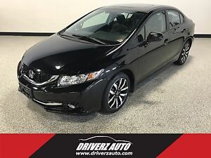 2015 Honda Civic Touring TOP TOURING TRIM, NAVIGATION, BLIND...
