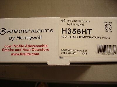 Fire Lite H355ht New