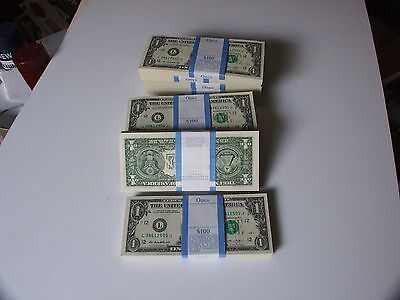 2013 Collectible San Francisco  Ca Pack Of 100 One Dollar Bills Mint