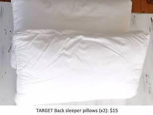 Target Backsleeper pillows Bellevue Hill Eastern Suburbs Preview