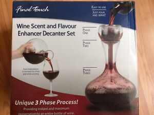 FINAL TOUCH Wine Decanter