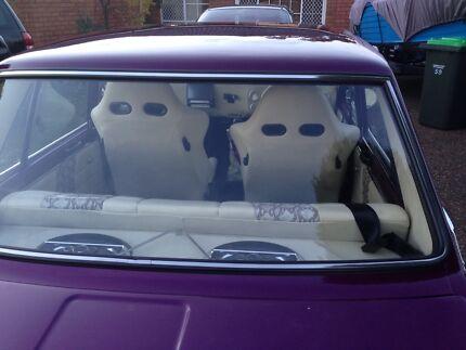 Datsun 1600 show car