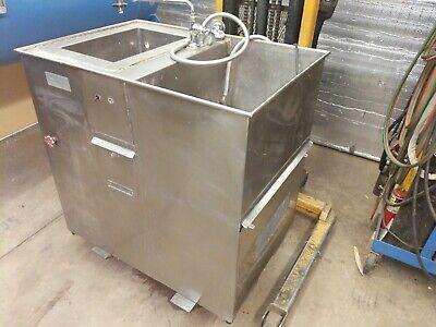 Large Dual Ultrasonic Cleaner Heated Wash Station Crest Genesis Eze Sonics