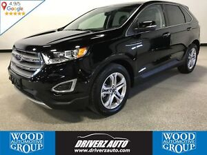 2017 Ford Edge Titanium PANORAMIC ROOF,HEATED & COOLING SEATS...