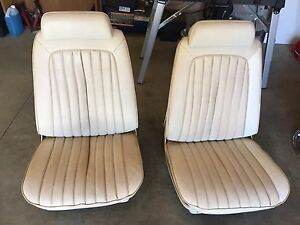 Chevelle bucket seats