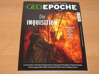 """GEO EPOCHE NR. 89 """"Die INQUISITION"""" ungelesen!"""