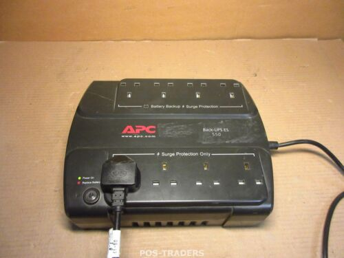 APC BE550-UK Power-Saving Back UPS ES 550VA 230V 8 x Skts 2m Lead usv