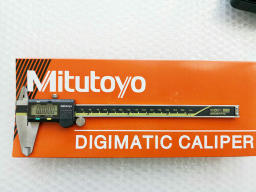 "0-8""/ 0-200mm Absolute Digimatic Caliper Mitutoyo 500-197-30 NEW 0.0005""/0.01"