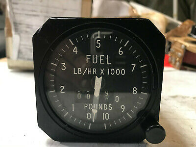 Aircraft Fuel Flow Meter Indicator. Ex MOD