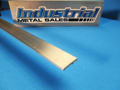 18 X 1 6061 T6511 Aluminum Flat Bar X 12-long--.125 X 1 6061 Mill Stock