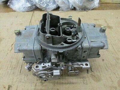 Fresh Rebuilt Holley 650 CFM Double Pumper Carburetor 4777 Man. Choke (Bolt On)