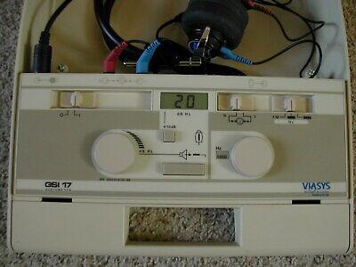 Calibrated 2021 June Grason Stadler Viasys Gsi 17 Audiometer