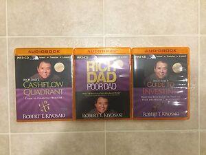 Rich Dad Poor Dad Audio Books by Robert T Kiyosaki