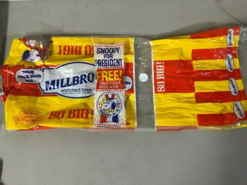 Vintage Millbrook Bread Wrapper