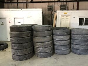 Looking for truck tire casings