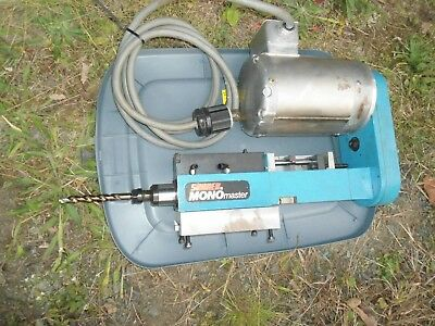 Suhner Mono Master Drill With Baldor 12hp Electric Motor