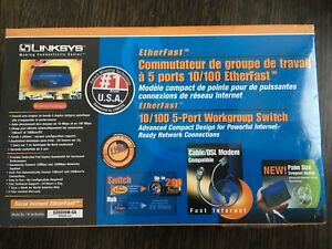 Linksys 10/100 Ethernet Switch