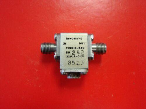 INNOWAVE 7.5-9.5GHz Isolator Model 10901X-530, SMA