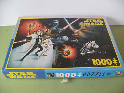Vintage STAR WARS 1000 piece Jigsaw Puzzle by King - Complete