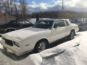 1981  Monte Carlo t top white car
