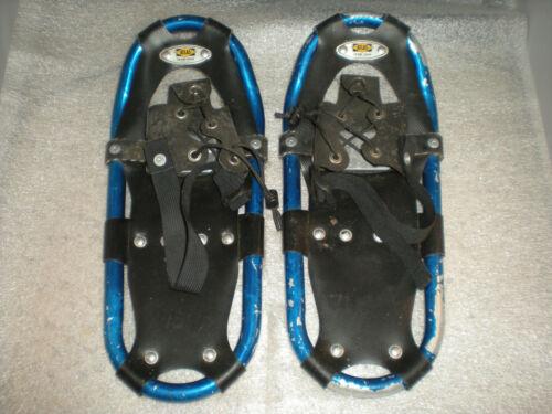 """Atlas Snow Shoe Company Junior/Youth Blue & Black 16""""x7"""" Aluminum Snowshoes"""