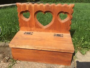 Rustic country wooden mail box