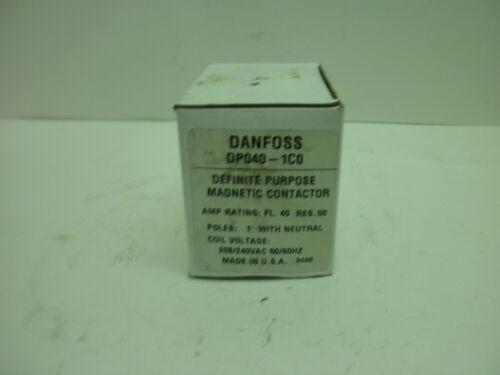DANFOSS DP040-1C0 DEFINITE PURPOSE MAGNETIC CONTACTOR 1 POLE RES.50 NEW IN BOX