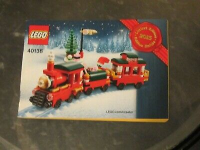 Lego Seasonal set 40138 Christmas Train *Retired HTF*