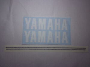 1972 Yamaha dt2 250 enduro fuel tank decals and oil tank decal