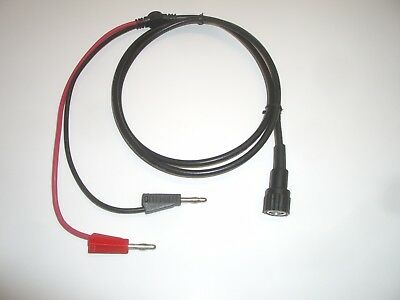Mpj 19026te 50 Bnc Male To Banana Plugs Rg-58 Coax Test Cable Fits Pomona