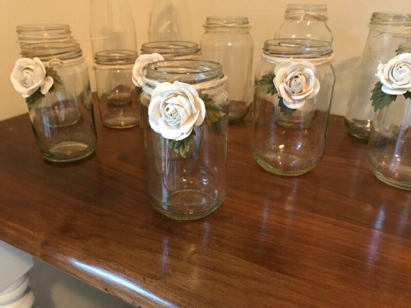 Decor mason jars wedding decor for hire party hire gumtree 1 of 2 junglespirit Gallery