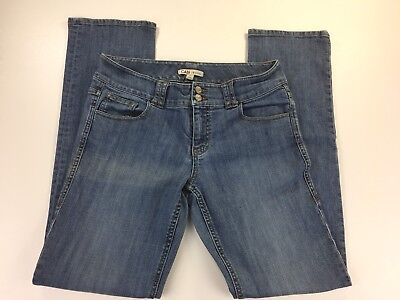 CAbi Women's Size 10 Style 347 Lou Lou Straight Medium Wash Stretch Jeans for sale  Graham