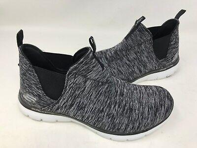 Flex Card - NEW! Skechers Women's FLEX APPEAL 2.0 HIGH CARD Walking Shoes Blk #12774 4R2 tz