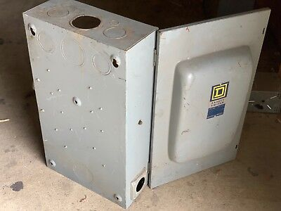 SQUARE D 400 AMP safety switch solid construction