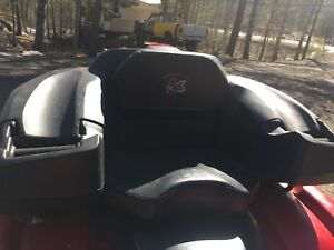 2 up seat for atv
