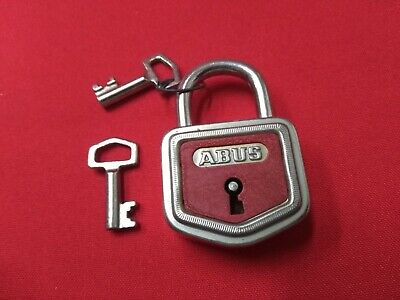 Padlock Abus Manufacturing German 40 mm Antique with 2 Keys - REF46820