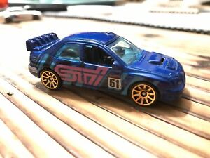 Hot wheels Subaru Impreza WRX STI(loose) from Car Meet 5-Pack