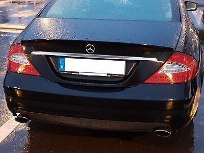 Obsidianschwarz Heckspoiler für Mercedes CLS 350 320 280 CLS55 AMG CLS 63 AMG