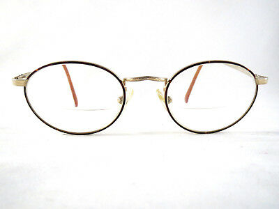 Earth Elements Eyeglasses Frames vintage spectacle style Gold Titanium 48-19 140