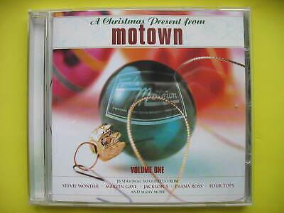 V/A-CHRISTMAS PRESENT FROM MOTOWN. CD  ALBUM. DISCO, SOUL,FUNK.18 TRACKS. EX CON ()